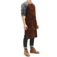 Safurance for Welders Apron Heat Resistant Welding Equipment Heat Insulation Protection Cow Leather Apron Workplace <strong>Safety</strong>