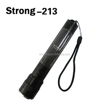 Professional Solar LED flashlights/LED USB torch/LED solar torch light with rechargeable 2000mAh battery