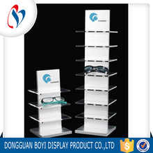 High Quality Customized Sunglass Stand Transparent Acrylic Display Rock