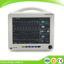 Hospital Cheap for Doctor Diagnose Monitor with Pulse oximeter 12.1inch multi parameter ambulance ICU Patient Monitor