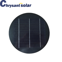 3.3W 6V Small Round Mono Silicon Solar Panel for Garden Light