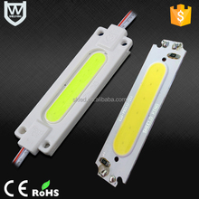 2016 new hot selling 2W cob power led module 12v hight quality emitting full color led module for advertising light sign
