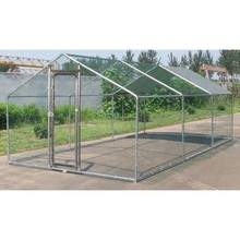 Large Metal Chicken Run 6M X 3M Walk in Coop for Hen Poultry Dog Rabbit