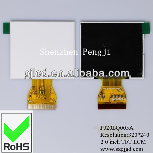 TFT Manufacturer! 2.0 display TFT LCD module color panel 480*240 for industrial, medical, instrument