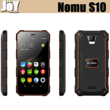 HOT 5.0 Inch IP68 Waterproof MTK6737T Quad Core 32GB ROM Unlocked S10 Nomu Mobile Phone 4G LTE Rugged Smartphone