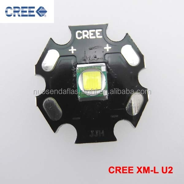 1xCREE XML <strong>U2</strong> Cool White LED Emitter with 20mm Aluminum Heating Star