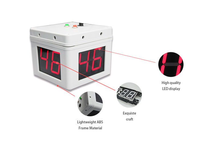 China manufacturer can be customized poker timer is suitable for all kinds of chess occasions