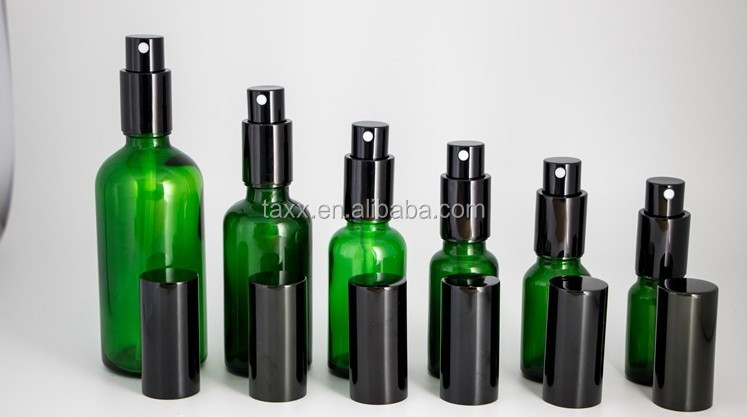 2 Oz 4 Oz 10ml 20ml 50ml 100ml Cobalt Fine Mist amber Glass Spray Bottles for Essential Oils Perfume