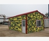 efficient Widelyuse easy kiosk container home kits finished steel prefab house