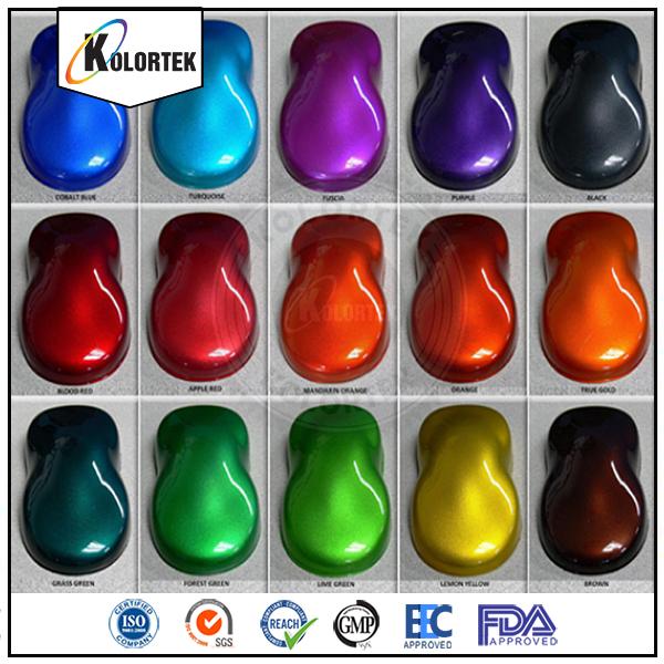 Candy Pigment Auto Base Car Paints Powder Coating,Auto ...