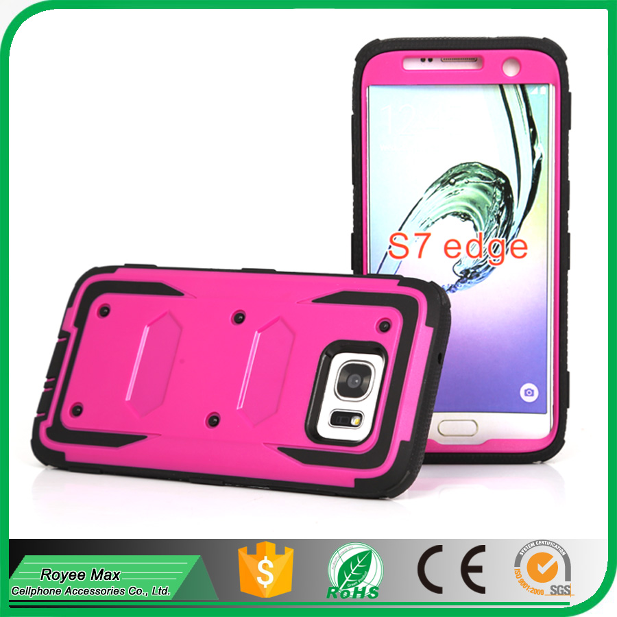 USA market new model shockproof Mobile Phone Super Case for samsung S7 edge holster cover