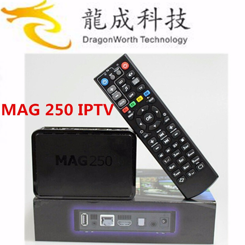 Powerful Mag 254 Function Wifi Iptv Box Media Streamer Full Hd Tv 3d Video Updated Mag250