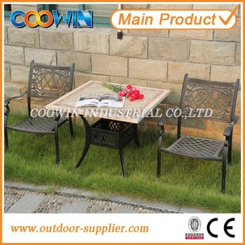 square marble top outdoor furniture