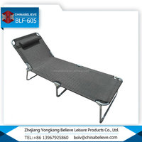 Extreme Style Strong Outdoor Furniture Easy to Carry Folding Single Bed