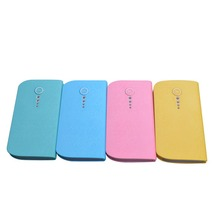 2017 new products Custom Power Bank 6000mAh Universal external Portable