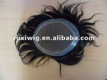 factory bottom price cheap toupee for men