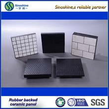 Conveyor Composite Rubber & Ceramic Wear Panel/ Pad for Mining Chute
