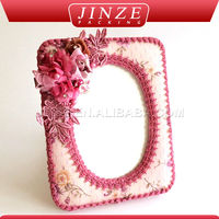 Pretty And Colorful Delicate Picture Frame Material