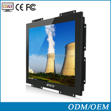 outdoor lcd monitor 15 inch LED open frame touch monitor, with lcd monitor vga board