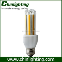 CFL 3U-like COB lamp 3u led energy saving bulbs e27 10w 3u 10w corn e27 led lighting bulb