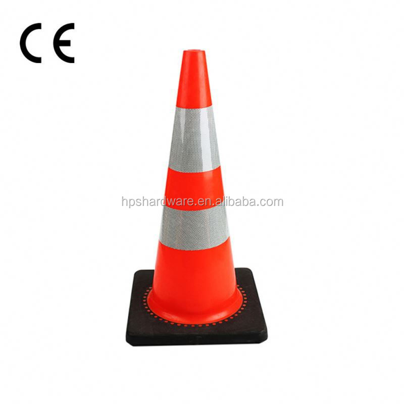 High Reflective Collapsible Road Traffic Cone With Ultra Low Price