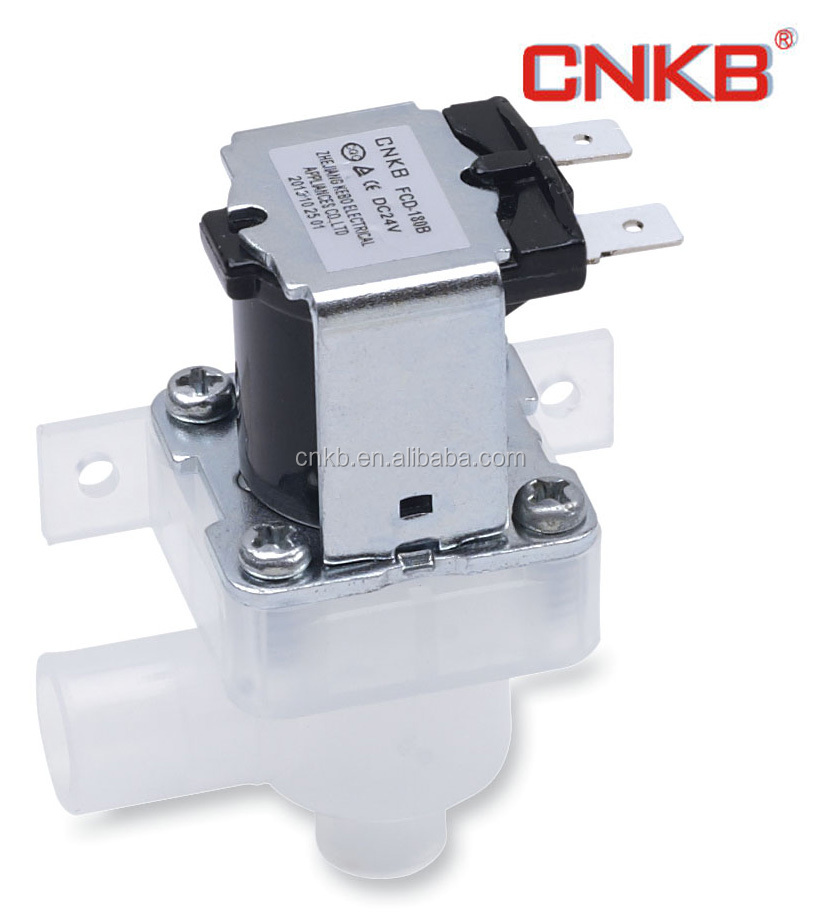 FCD-180E Water dispenser plastic out let water solenoid valve