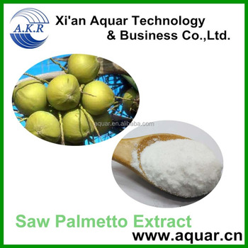Pure and natural extract pharmaceutical grade saw palmetto 85%-95%