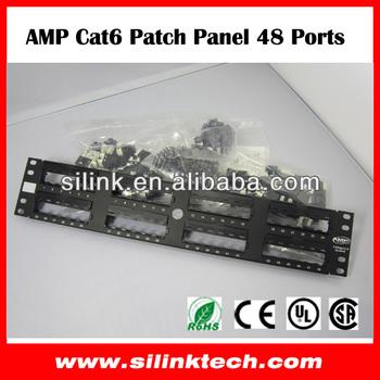 AMP Netconnect 48 Port Cat 5 Patch Panel eBay