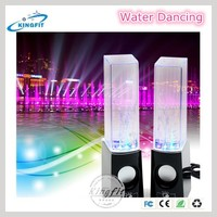 Large water dancing speaker for computer