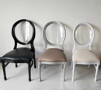 NEW stackable wedding clear napoleon chair acrylic