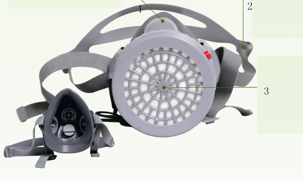 MF30 type electric blower dust half mask
