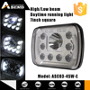 popular style 5x7inch hight/low beam led head lamp 45w led headlamp headlight for truck
