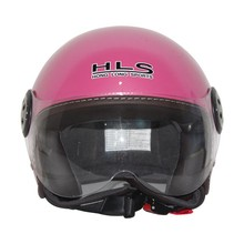 jet helmet with leather covered---ECE/DOTcertification