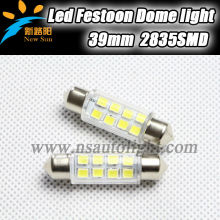 Auto car led reading light 12v, 41mm Led feston light for BMW, Audi, Benz
