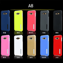 Fashion 2 in 1 pc + tpu armor case for samsung galaxy a8 back cover