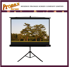 "Promax 150"" outdoor/indoor protable Tripod projection screen with matte white fabric"