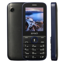 "IPRO I324F- 2.4"" Good Quality Latest Small Cute long standby basic gsm phone with 1000mAh battery,Camera 0.08MP"