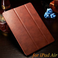 Newest design top quality best price PU leather protective tablet universal case for ipad 5 air