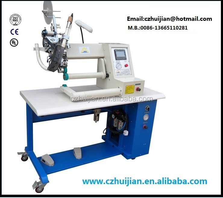 Hot air seam sealing machine for rain coat,tent,car cover