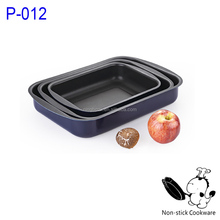 aluminum ceramic coated square grill pan nonstick griddle pan