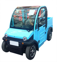 Mini electric truck with cargo tank