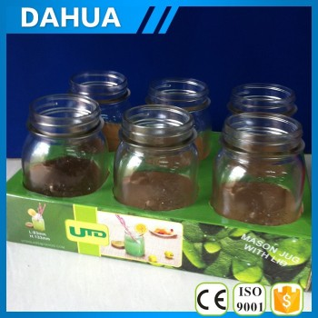 600ml mason jars suit with PDQ