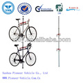 bike working stand/ aluminium floor to ceiling bike display stand