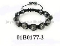 shamballa bracelets with cross friendship bracelet kit