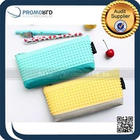 Colorful Promotional Pu Leather Custom Pencil Bag