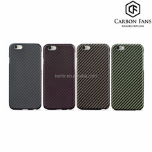 100% real Kevlar Aramid Fiber mobile phone cases for iPhone 6, 6s