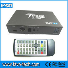 Mobile car tv dvb-t2 box with 100km/h for Thailand, Russia, Ukraine, Columbia
