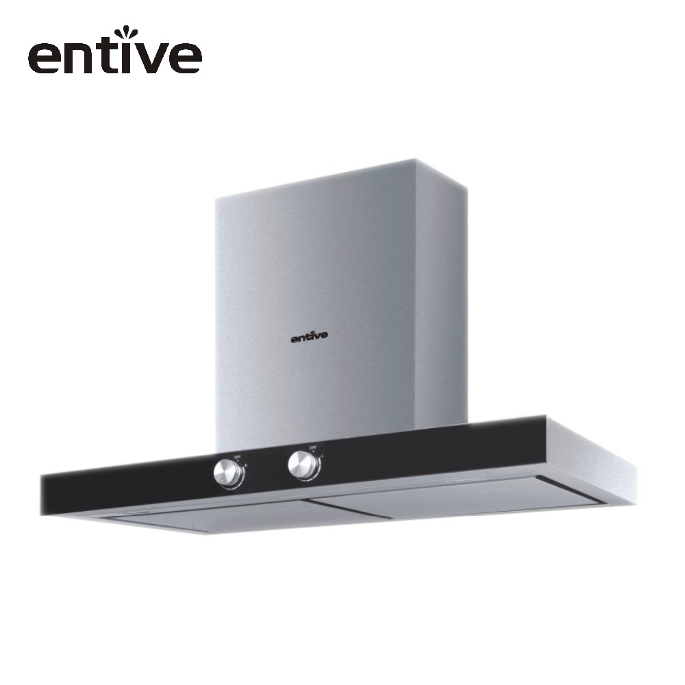 China integrated wall mounted SS kitchen chimney
