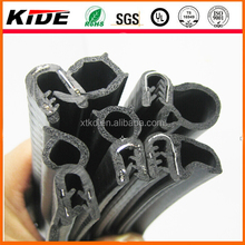China supply extrusion compound rubber seal with steel for car door