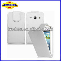Leather Flip Case for Samsung Galaxy Fame S6810,Flip Leather Case Cover,High Quality Case Cover----Laudtec